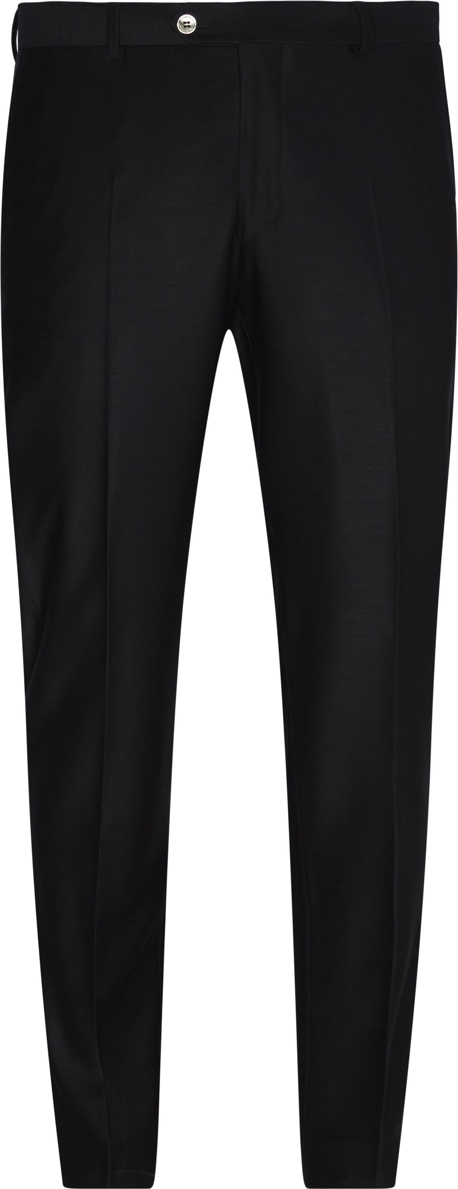 Habitbukser  - Bukser - Regular fit - Blå